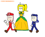 Herry, Berry and Princess Mary by ChristianSmash64