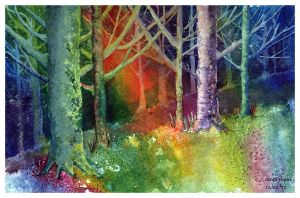 Mystical Forest by Sarah-Diane