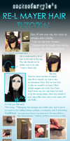 RE-L Mayer wig styling tutorial by SillyHippo11