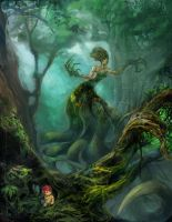 Forest Banshee by Maclq