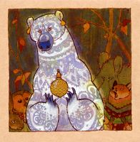 white bear by luve