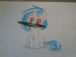My Little Pony Friendship is magic Vinyl Scratch by Fluttershy1502