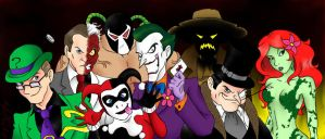 The Guys from Arkham by DarthGuyford