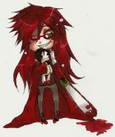 +Chibi Grell+ by Xigamay