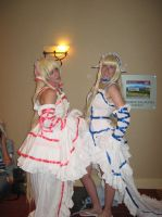 Chobits Chii and Freya by Witts-End