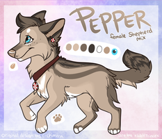 Pepper by xWolfPrincex