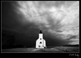 Church and the Storm by pictureguy