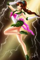 Sailor Jupiter by griffiel