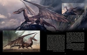 Smaug Concept Art by unusedusername111