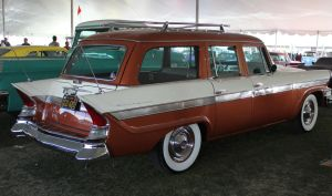 1957 Packard wagon by finhead4ever