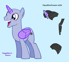 mlp base : we are equals and soon you'll be by SapphireScarleteShop