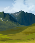 Amare Mountains by o-FLYNN-o