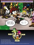 SatBK: Chaotix - Issue#1 pg1 by Xaolin26