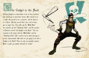 Fairy Tales gone Spandex - The Cudgel in the Sack by deralbi