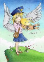 Girl with wings by Agamnentzar