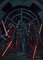 Trio Dark side by LucaStrati