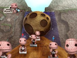 LBP - Boulder Race by Morkybabes