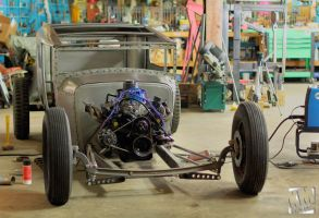 Hot Rod Build2 by kurtywompus