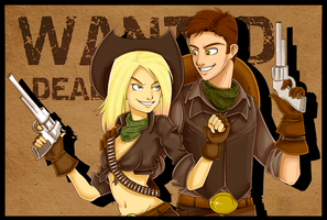 Wanted Dead or Alive by Tee-J