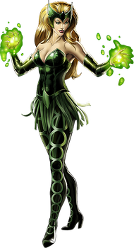 Enchantress - Marvel Avengers Alliance by icequeen654123