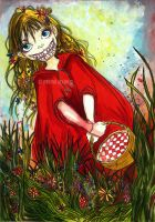 My little Red riding hood by winona-adamon