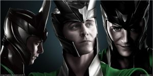 God Of Mischief by redderz