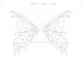 Eleana Sapphirix Wings Sketch by Natalia-Enchantix