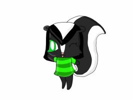 Stinky in Animal Crossing Style by TammyPandy