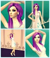 Rarity on The Sims 2 by EricaMeow