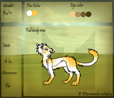 Cloudfire Ref by NikkiiChi