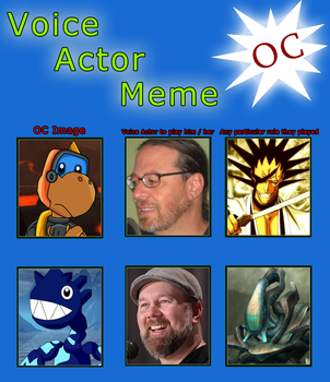Code Crossover voice actor meme by scott910