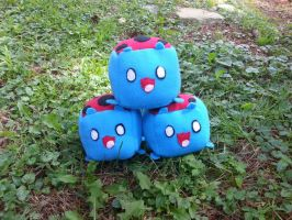 Mini Catbug Cubes by GreenSleazy