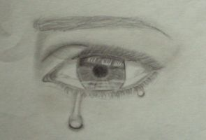 Eye crying by Chivys