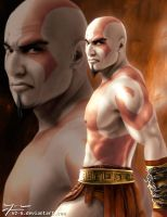 God of War: Kratos by v2-6