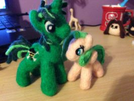 Jolly Roger and Coconut Breeze preview by the-pink-dragon