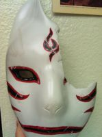 Battle Kakashi Anbu Mask by ChidoriLove89
