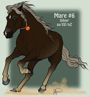 Mustang Mare Adoption 6 by JNFerrigno