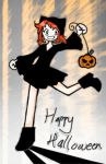 - happy halloweenie - by Maadi