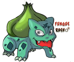 Fungus Tha' Bulbasaur by Seed-eyes