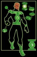 GL Redesign - John Stewart by GreatScottArt