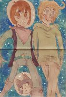 commision: walk the galaxies by Denji-chan