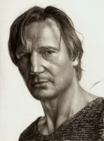 Liam Neeson by AmBr0