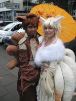 Vulpix and Ninetales Gijinka Cosplay by Shonen-Ai-Freak94