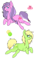 My little pony Adopts (OPEN) by Tangyowl