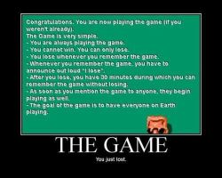 the game by jdraher