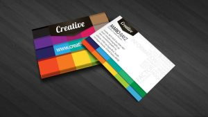 Creative business card by Lemongraphic