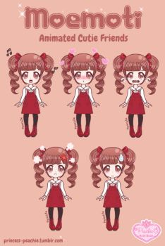 Moemoti Commission - Ringlets Girl Casual by Princess-Peachie