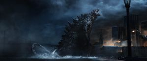 Godzilla 2014: Gojira's Mighty Roar 3!! by sonichedgehog2