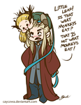 Hobbit - Not What Monkeys Eat by caycowa