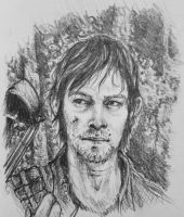 Daryl Dixon by cheeto-rlb17